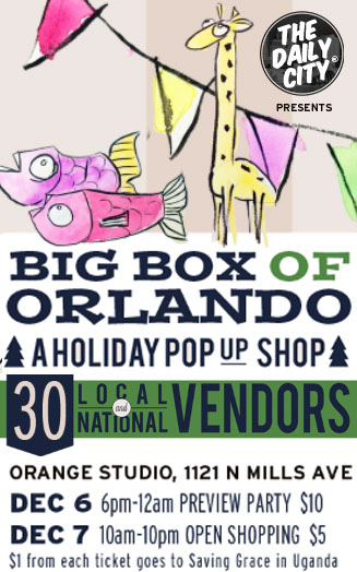 Big Box of Orlando Pop up Shop presented by thedailycity.com