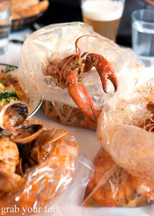 Yabbies at House of Crabs, Norfolk Hotel, Redfern