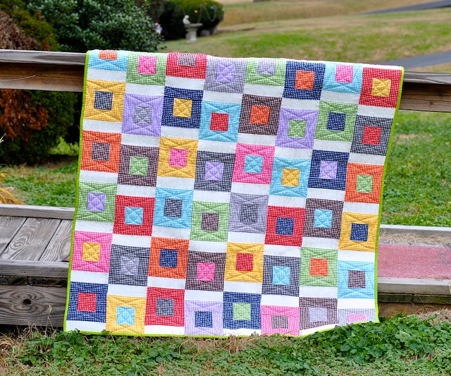 Baby Quilt from Sarah