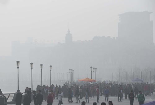 北京雾霾影响飞机起飞