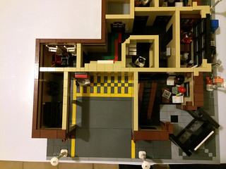 First floor - Modular Lego Hospital / Outpatient Facility