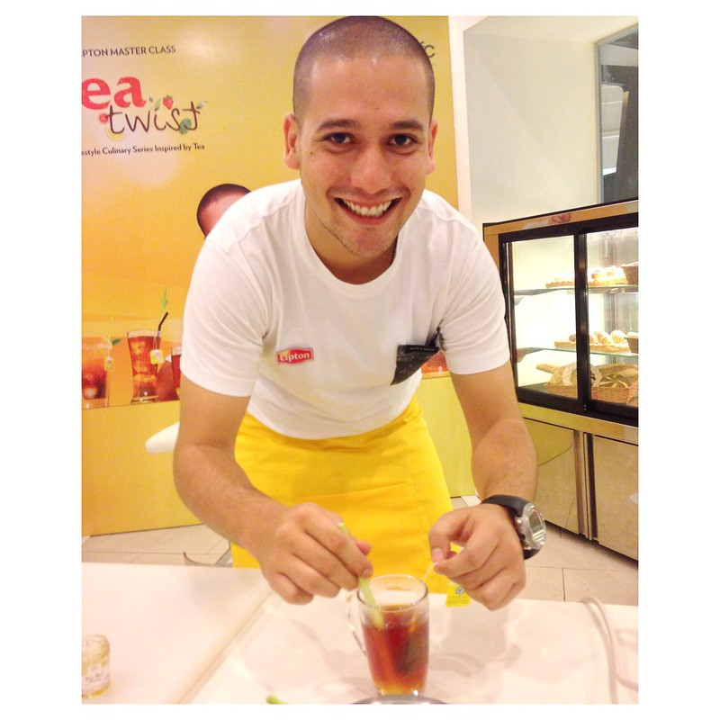 Lipton Tea chef nik