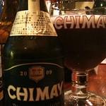 ベルギービール大好き!!シメイ・ブルーChimay Bleue (Blue) 2009