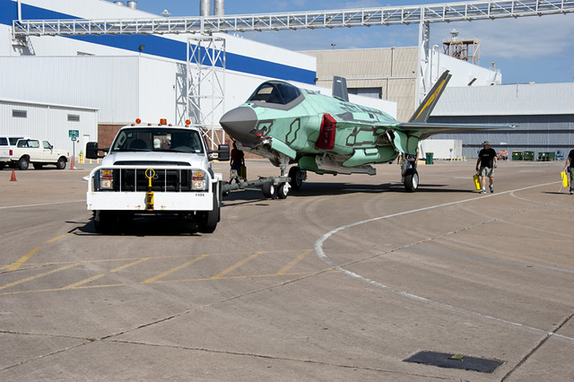 100th F-35 Fuels Up