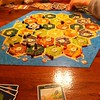 A seriously intense game of Catan!