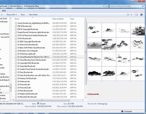 Image of screenshot of how Tumasoft Argus preset viewer looks