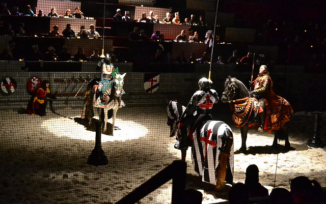 Medieval Times Orlando Florida - the Joust