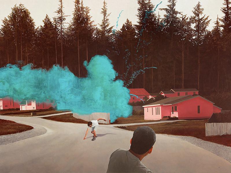 Alex Roulette, Smoke Bomb