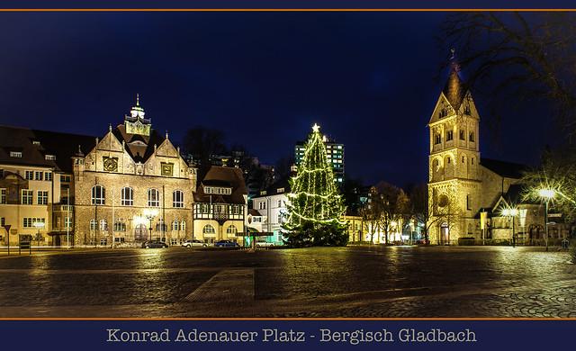 konrad adenauer platz in bergisch gladbach weihnachten. Black Bedroom Furniture Sets. Home Design Ideas