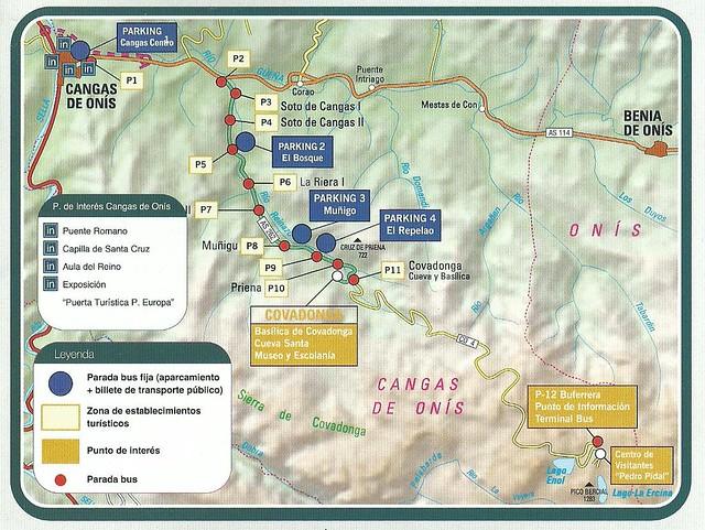 Lagos Covadonga - Parking