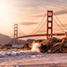 Golden Gate Bridge from Baker Beach by m@yphotos