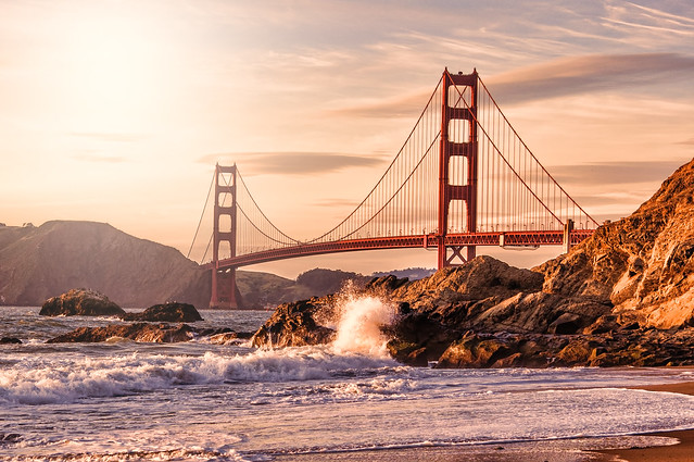 Karsten May - Golden Gate Bridge from Baker Beach