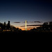 Washington Monument at Sunset by yonas1