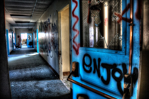 Abandoned Medical Clinic