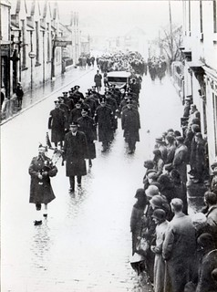 Ross & Cromarty Constabulary - Funeral of Chief Constable Finlayson at Dingwall in December 1934