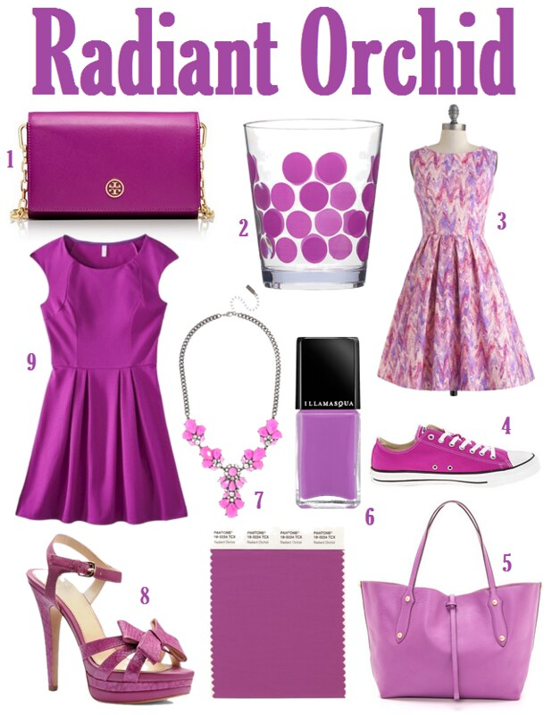 Obsessed with Radiant Orchid on Living After Midnite