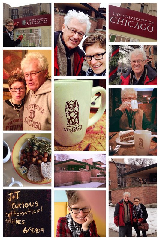 Brunch. UofC. Robie house. Gargoyles. Carrot cake. Trivia. The awesomest day out in the city ever with @shawtreks.