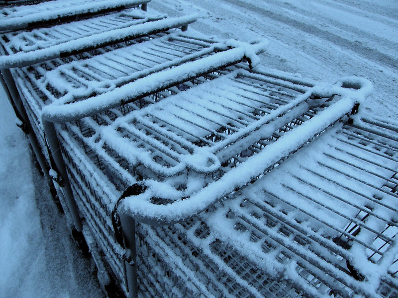 to the frozen cart corral