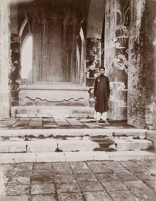 Hué – La stèle du tombeau de Tu-Duc