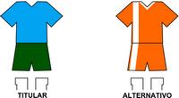 Uniforme Selección Itapeña de Fútbol