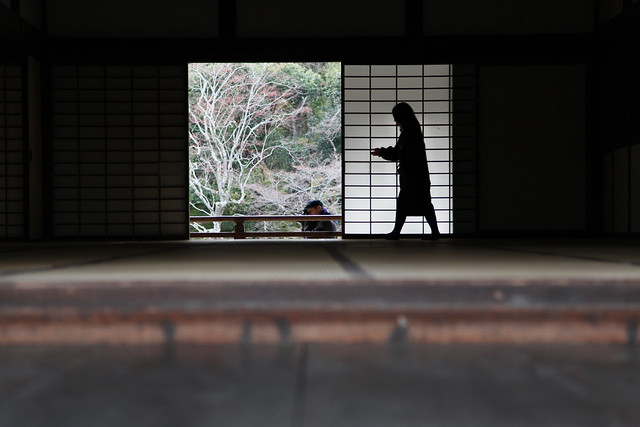 Guillermo photographs peace at a Zen Buddhist shrine (Kyoto, Japan)