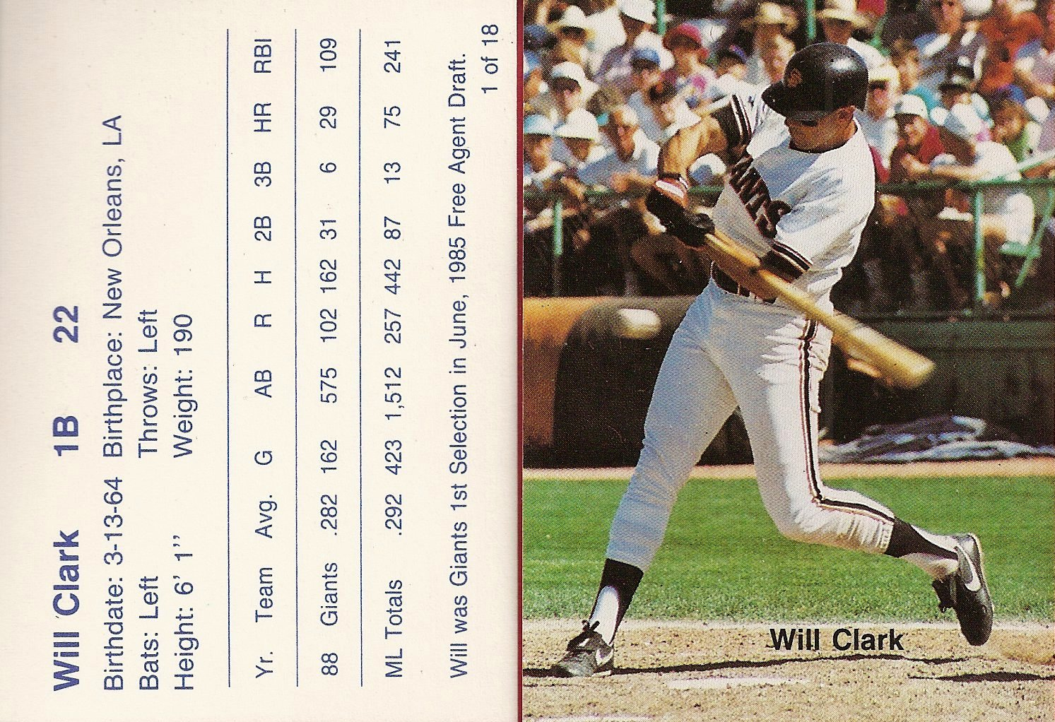 1989 Cactus League All-Stars