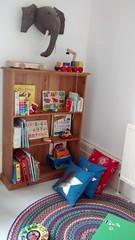 art, shelf, textile, furniture, room, toy,