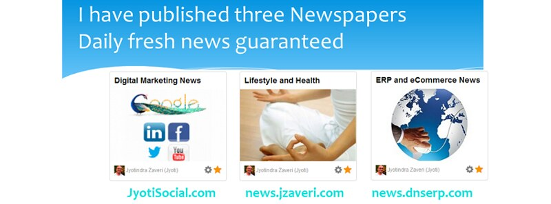 Digital marketing - Newspaper replaces News letters