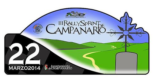 III Rallysprint de Campanario 2014