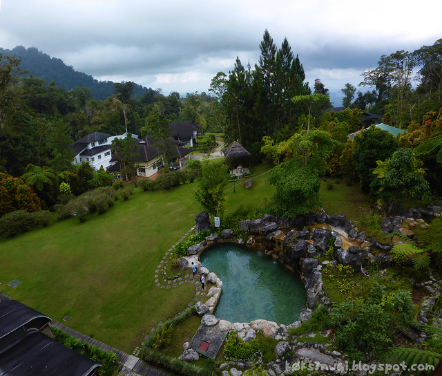 View From Room in Borneo Highlands Resort
