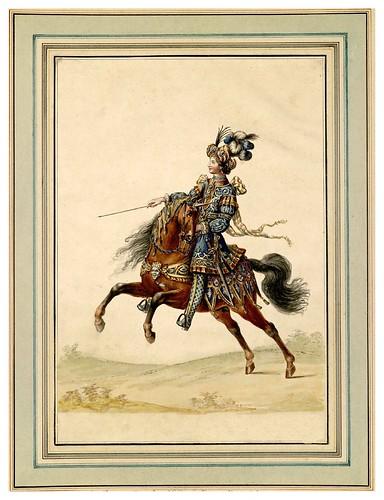 014-Carrousel des galans Maures de Grenade…1685- Jean Berain- INHA
