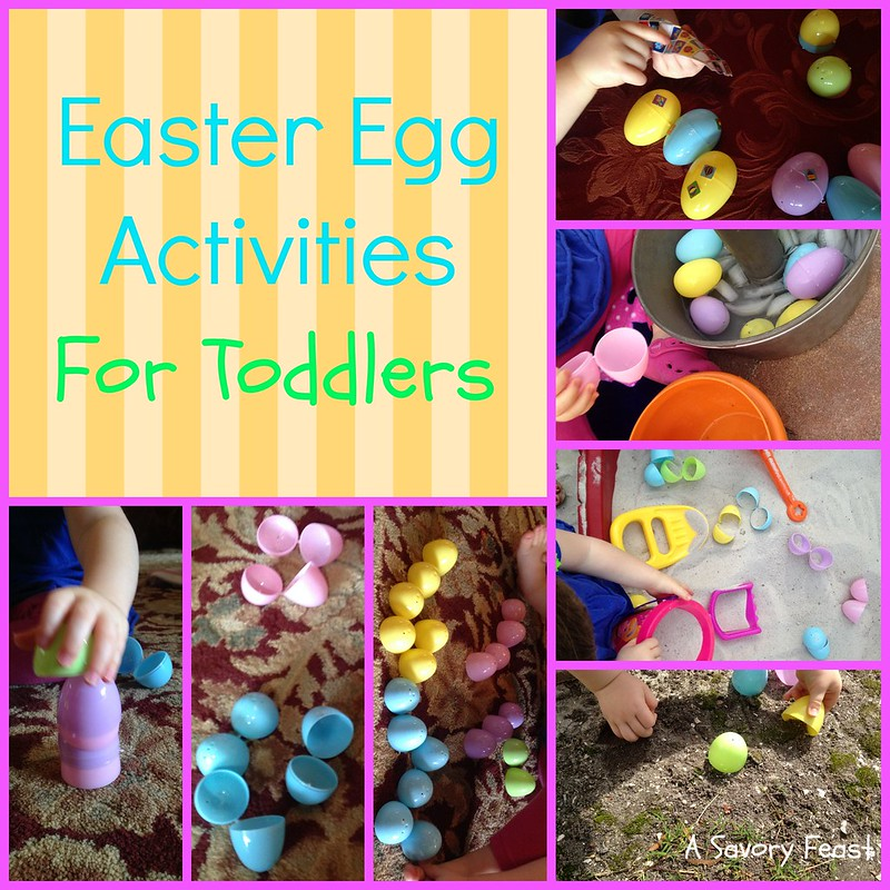 Easter Egg Activities for Toddlers