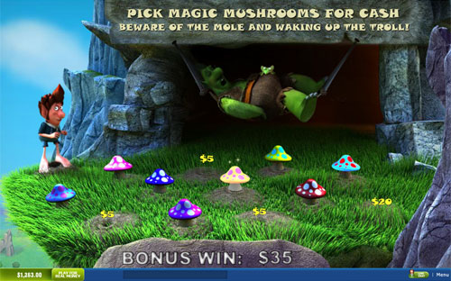 free Fortune Hill Magic Mushrooms Bonus