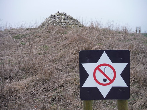 Cairned Tumulus on Cotley Hill