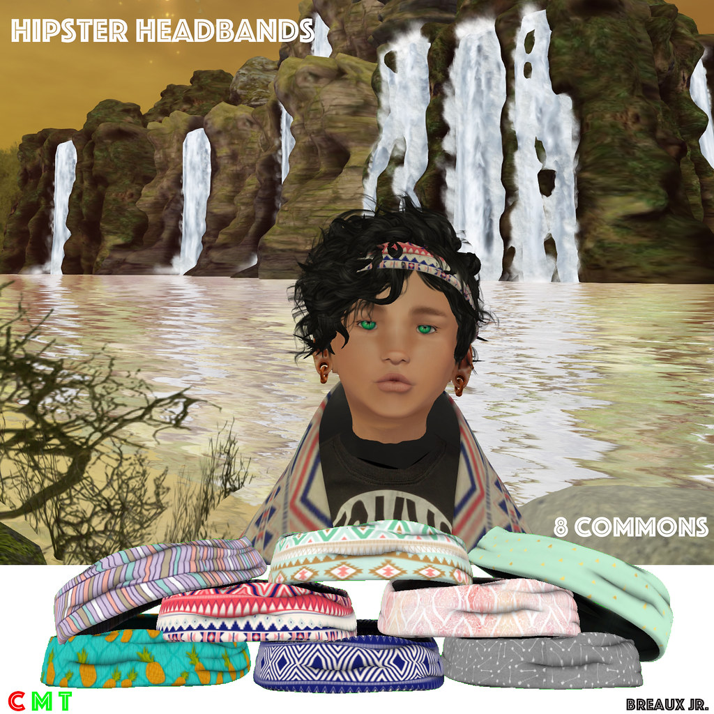 Hipster Headbands Gacha Ad - SecondLifeHub.com