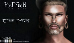 *PosESioN* Triunf Piercing Set at The Darkness Monthly Event