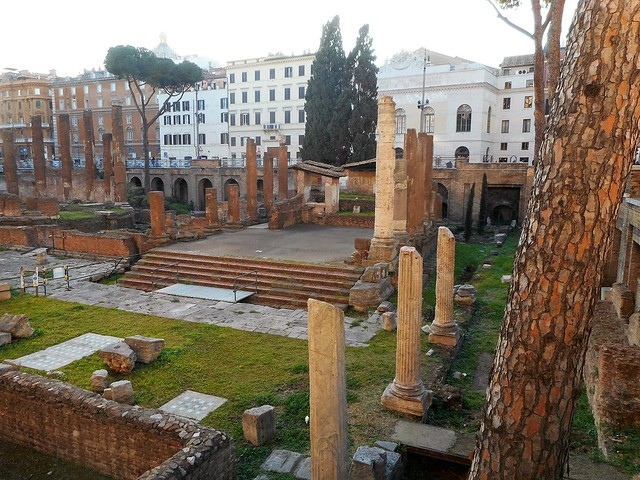 Temple A (half 3rd century BC) - Temples at Largo Argentina in Rome
