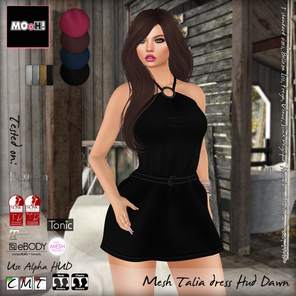 Talia dress dawn - SecondLifeHub.com