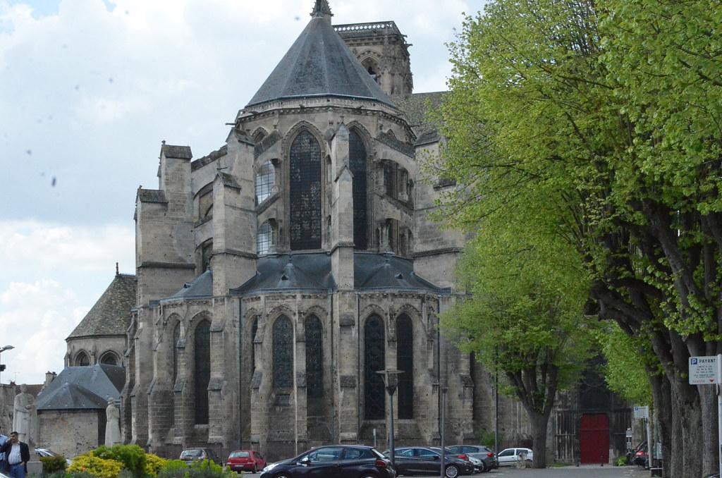 Soissons (Aisne), cathédrale St-Gervais et St-Protais