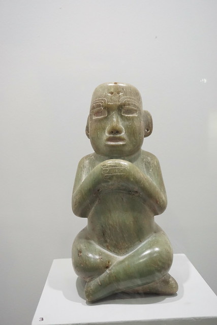 Figurilla de Fucsita, Uaxactun