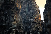 Majestic Faces At The Bayon