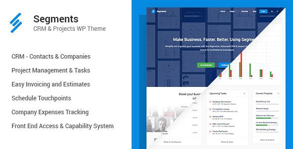 Segments WordPress Theme free download