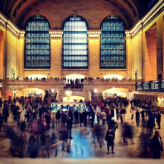 Image of Grand Central Terminal. instagramapp square squareformat iphoneography uploaded:by=instagram xproii