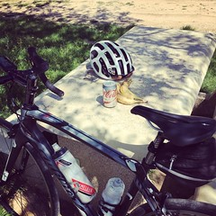 #Lunch break. #Cycling #velo #wilier #elemnt