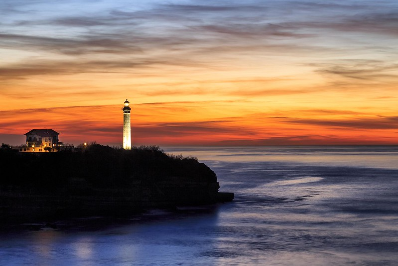 Lighthouse in fire #explore
