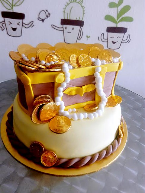 Money Bucket Cake By Carien Tan Of Moku Cakes And Desserts House