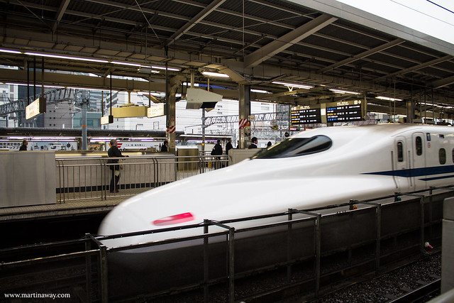Shinkansen at Nagoya Station