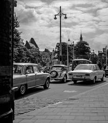 Gezicht op het buitenhof - den Haag 1969.