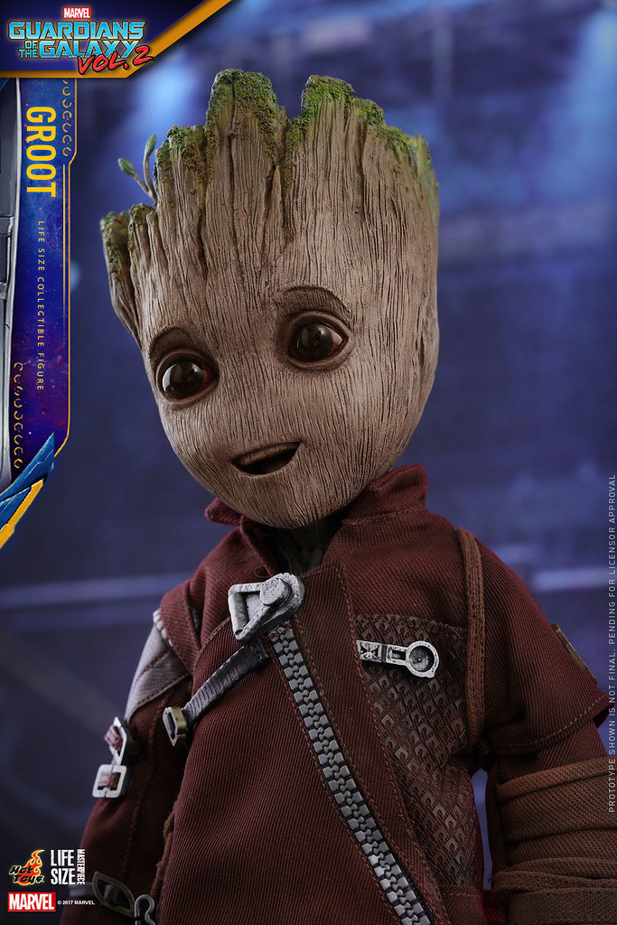 喜歡小格魯特?那就帶一隻Hot Toys 1:1 小格魯特回家吧~ Hot Toys - LMS004 Groot Life-Size Collectible Figure