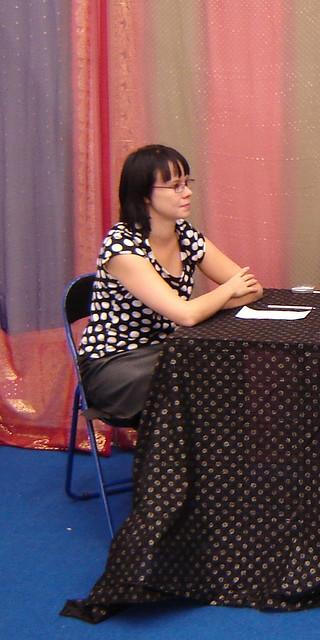 Haastattelijana Terhi Rannela 2007